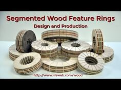Design and production of segmented wood feature rings, each with as many as 350 wood pieces. The techniques and equipment needed to produce intricate segment. Segmented Turning, Wood Turning Lathe, Wood Turning Projects, Wood Lathe, Wood Projects, Bowl Turning, Pen Turning, Lathe Tools, Small Pen