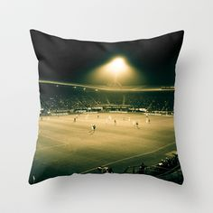 STADIUM Throw Pillow by Kevin Spagnolo - $20.00