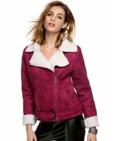 Lapel Long Sleeve Warm Coat