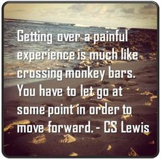 Great man learn from the small things in life - like monkey bar! :D CS Lewis