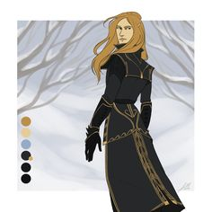Merilinor - Reference by Felniirin