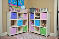 Ana White storage cubes - need to add one more column for a bookcase. Cube Organizer, Cube Storage, Craft Storage, Storage Ideas, Toy Storage, Ana White, Easy Diy Projects, Home Projects, Furniture Plans