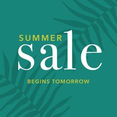 Our HUGE Summer Sale starts TOMORROW at 10am online & in stores! Get ready to shop some AMAZING deals!