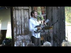 Chris Thile solo on The Backporch stage at Floydfest 2012