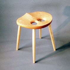 The unique design provides maximum ergonomic comfort and relieving back pain. The hardwood seat is sculpted to emphasize the natural beauty of the wood.