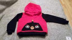 Crest:n käsityöt: Angry Birds villahuppari