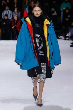 View the full Fall 2018 collection from Balenciaga.