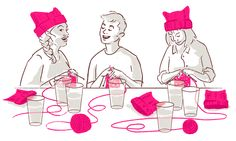 What's Up, Pussy Hat? Knitting Activists Cause Shortages of Pink Yarn by Jennifer Luxton — YES! Magazine