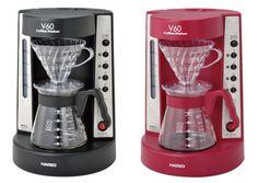 Hario koffiezetapparaat in twee kleuren