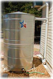 Texas Water Cistern