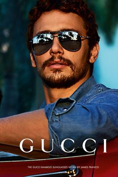 Gucci's fall eyewear campaign featuring James Franco