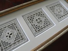 hilo刺繍教室-アーカイブス/ギャラリー2…2012 Jacobean Embroidery, Hardanger Embroidery, Hand Embroidery, Drawn Thread, Cut Work, Gold Work, Needful Things, Modern Cross Stitch, Embroidery Techniques