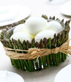 Decorare la tavola di Pasqua per gli ospiti
