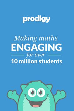 FREE Curriculum-Aligned Maths Game for Year 1 to 8! Join 700,000 other teachers already using Prodigy to make maths more engaging for their students!