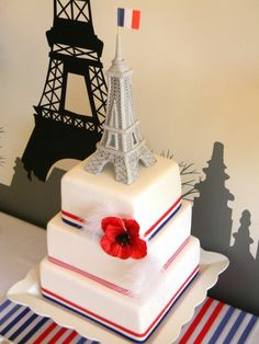 Paris cake - Will someone please make this or something similar to this for my 23rd birthday?!