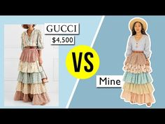 MAKING A $4,500 GUCCI SKIRT | @coolirpa - YouTube