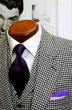 Wm. King Clothiers Houndstooth