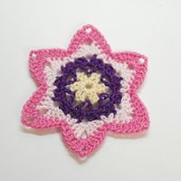 Tina's handicraft : Crocheted Flower