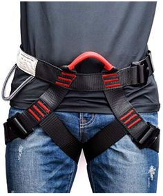 Ocun TWIST RENTAL Light three-buckle harness with extra safety features
