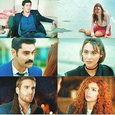 The completed of Aşk Laftan Anlamaz Cute Love Stories, Love Story, Alina Boz, Hayat And Murat, Hande Ercel, Turkish Actors, Dramas, Besties, Crushes