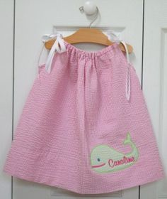 From Tiny Tulip, everything personalized or monogrammed.  Lots of cute items for all ages.