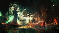 Reminds me of Uprooted by Naomi Vovik - From: Collection: Of Angels and Demons Vol. 2 by techgnotic on DeviantArt