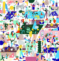 UK Illustration collective Nous Vous say being chosen as the Illustrator in…
