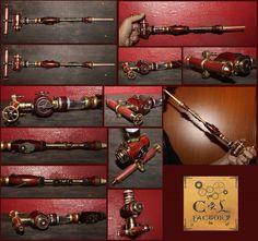 electronic cigarette steampunk vape e-pipe num 18 by Cirdann72.deviantart.com on @deviantART