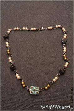Neu Neo-Victorian Halsschmuck  Halskette Czech Beads