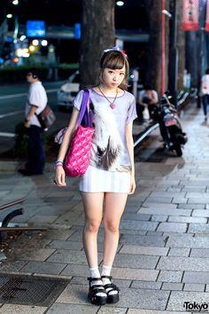 Harajuku Cute Style w/ Creamy Mami, Horse Shirt & 6%DOKIDOKI   it's her-> http://twitter.com/nanchan74