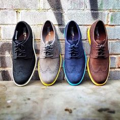 Timberland Oxfords - The two in the middle are def paddling my canoe!