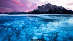 Frozen methane bubbles are highly flammable and combustable (Credit: Credit: robertharding/Alamy)