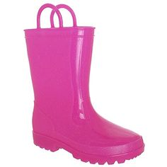 Shiny Solid Opaque With Allover Glitter And Handles Girls Casual Body Jelly Rain Boot Pink Capelli New York http://www.amazon.com/dp/B00OU4MAGE/ref=cm_sw_r_pi_dp_oP8qvb1PG588A