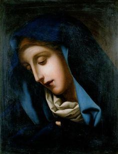 Mater Dolorosa, after Carlo Dolci