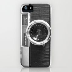 Camera - Also available as iPhone4 case and iPhone skin iPhone & iPod Case by Nicklas Gustafsson - $35.00