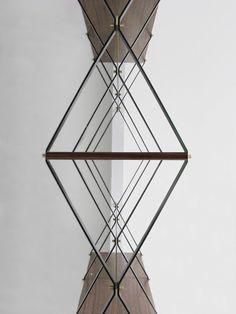 Libreria Romboidale Design by Pietro Russo