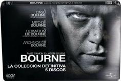 Bourne [Vídeo]: la colección definitiva. The Bourne Identity. El caso Bourne Ficha: http://www.filmaffinity.com/es/film668232.html The Bourne Supremacy. El mito de Bourne. Ficha: http://www.filmaffinity.com/es/film517569.html The Bourne Ultimatum. El ultimátum de Bourne. Ficha: http://www.filmaffinity.com/es/film560336.html Signatura: CINE (ARQ) 160 Na biblioteca: http://kmelot.biblioteca.udc.es/record=b1428125~S1*gag
