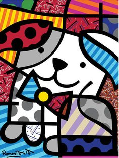 Official Website for World Renowned Pop Artist Romero Britto Pintura Graffiti, Graffiti Painting, Arte Pop, Arte Country, Arts Ed, Art Graphique, Art Plastique, Animal Paintings, Oil Paintings