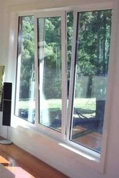 This window lends itself to be able to offer a large airflow, which gives vital ventilation to the new modern home.