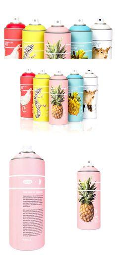 Student: Krylon=Pow! — The Dieline   Packaging & Branding Design & Innovation News