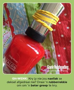 Good Housekeeping is the go-to mag for the busy woman looking for quick, clever, cost-effective ways to maximise her life and her home. Good Housekeeping, Helpful Hints, Handy Tips, Drink Bottles, Life Hacks, Clever, Manicure, Bubbles, Nail Polish