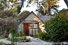 The large Rose Garden Cottage at the historic Pierpont Inn in Ventura.  Photographer: Craig Owens.  Copyright: Sad Hill, LLC.