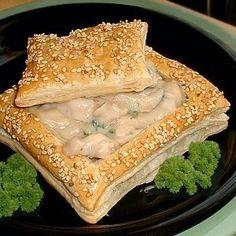 De Kooktips - Bladerdeeg-pasteibakjes