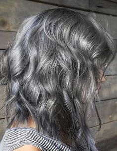 Grey Color Ideas on Dark Brown Hair 2018 Spring Ideas