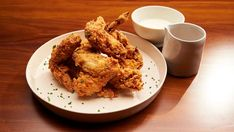 MasterChef Australia Season Hot and Spicy Buffalo Wings with Blue Cheese Sauce By: Tessa Boersma - Contestant - - Small Food Processor, Food Processor Recipes, Crockpot Recipes, Chicken Recipes, Masterchef Recipes, Blue Cheese Sauce, Buffalo Wings, Fried Chicken, Chicken Wings