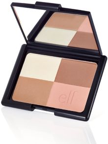 ELF Studio Cool Bronzer $3-- no shimmer... saw a great tutorial about contouring