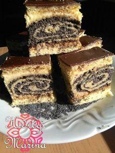 elképesztően finom, a család nem győzi falni! Hungarian Cake, Hungarian Recipes, Tiramisu, Fudge, French Toast, Cheesecake, Food And Drink, Nutella, Food Photography