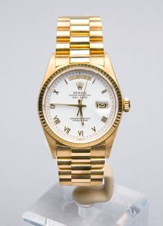 Reloj de pulsera Rolex.