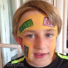 Lego face paint