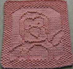Chill Out! Penguin Dishcloth, by Down Cloverlaine on BlogSpot. Free knitting pattern!!